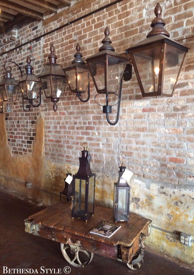 #BethesdaStyle ~ #Bevolo ~ Gas Lantern ~ New Orleans