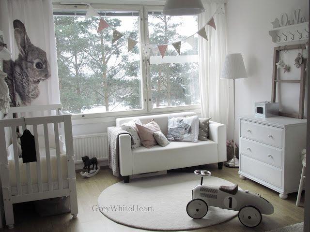 Grey + White nursery