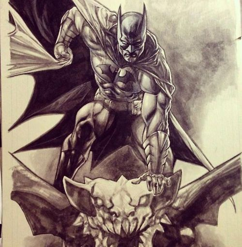 Batman Tattoo, Batman, Batman