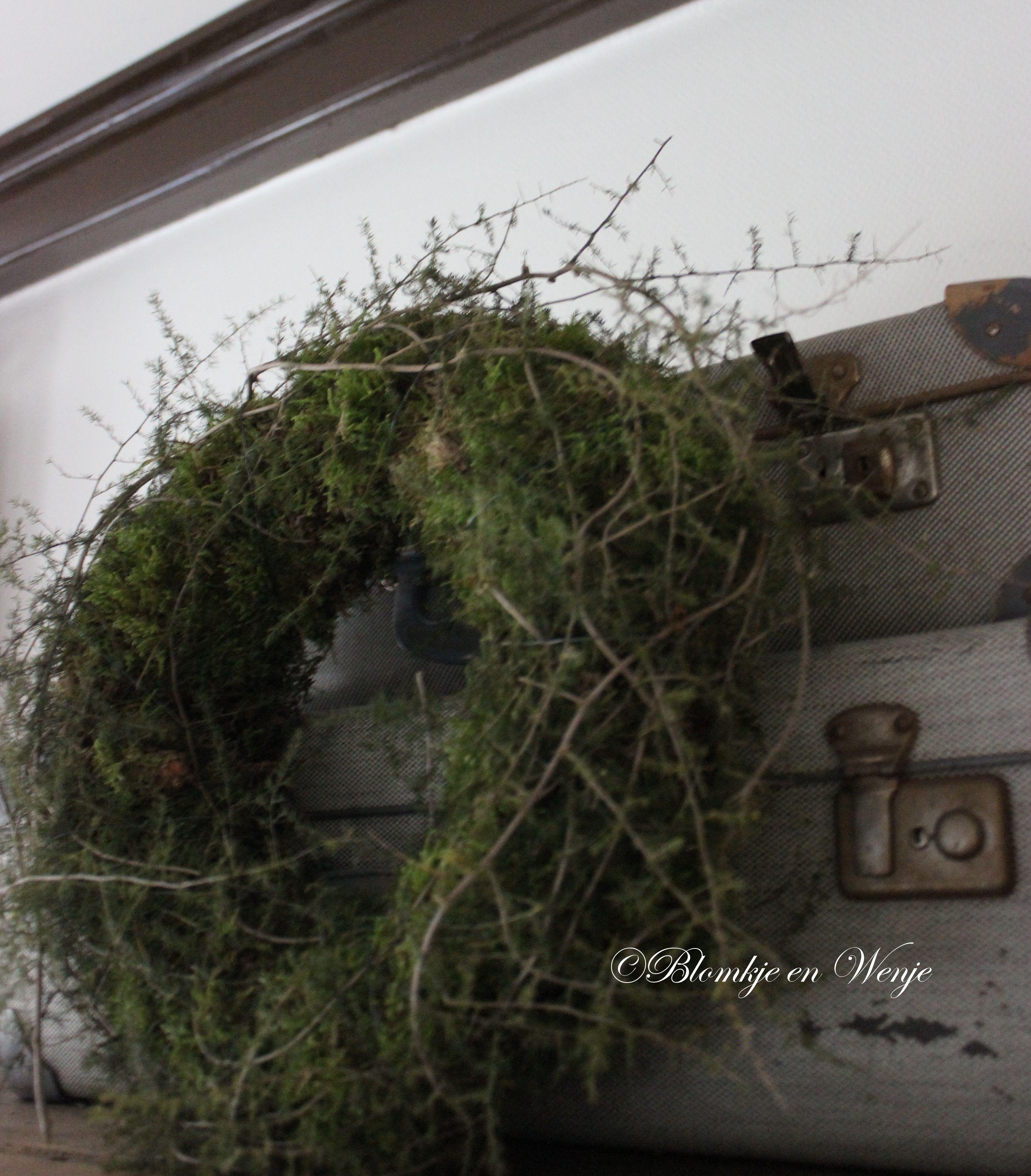 asparagus wreath krans kranz corona stoer sober landelijk blomkje en wenje wreaths wreaths. Black Bedroom Furniture Sets. Home Design Ideas