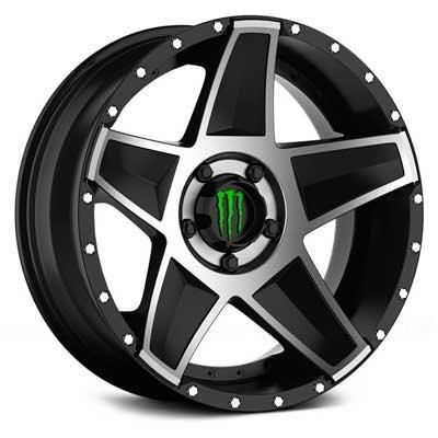 New Wheel 648mb Monster Edition Black Machined Available In 20