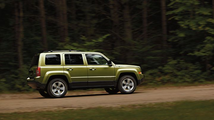Jeep Patriot Limited Shown In Rescue Green Metallic Jeep