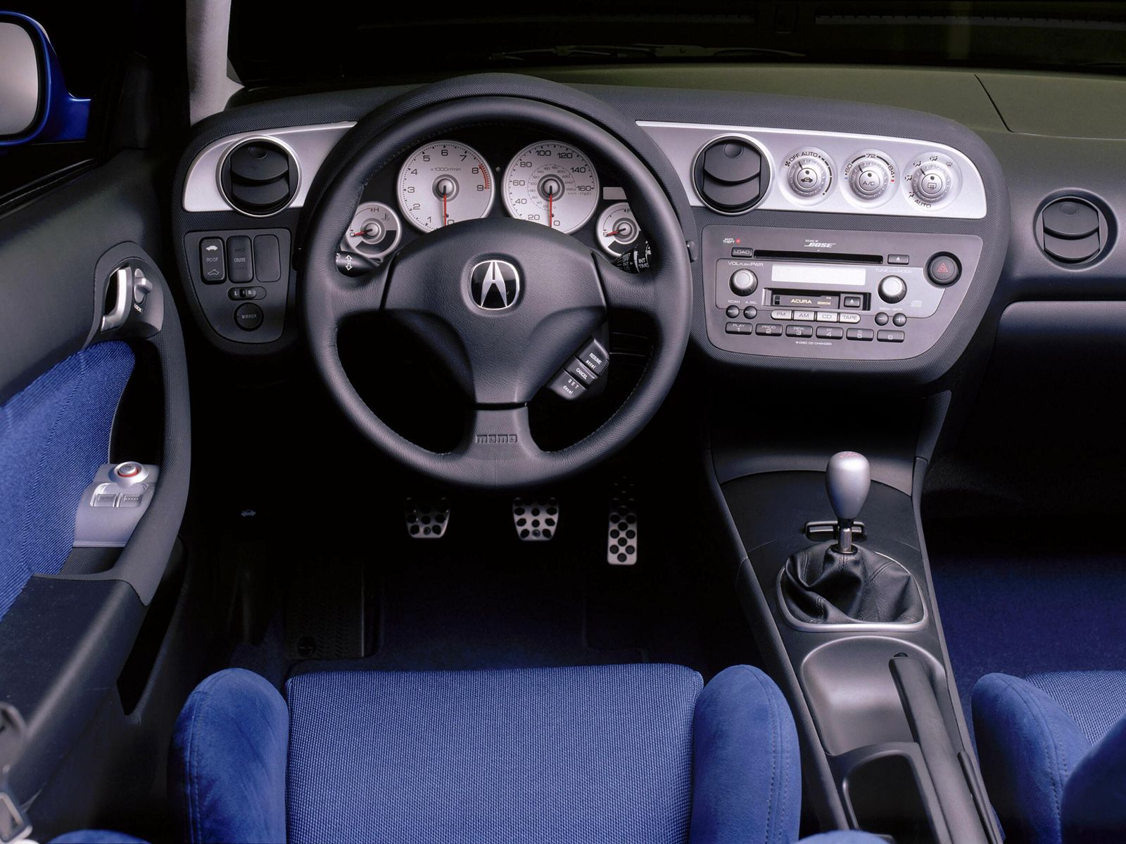 2001 Acura Rsx Prototype Rsx Honda Integra Dc5 Car Interior