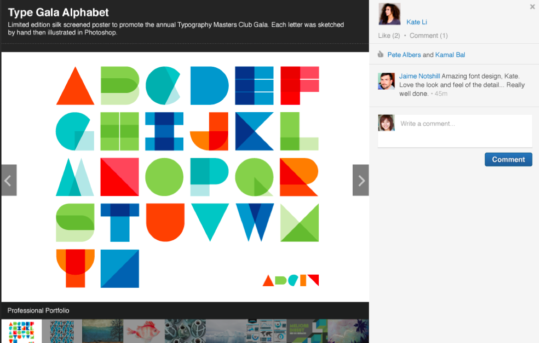 LinkedIn Lets You Illustrate Your Talents With Pics, Video