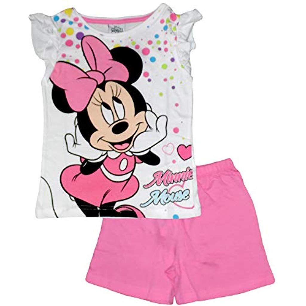 Disneys Minnie Mouse Pigiama Due Pezzi Ragazza