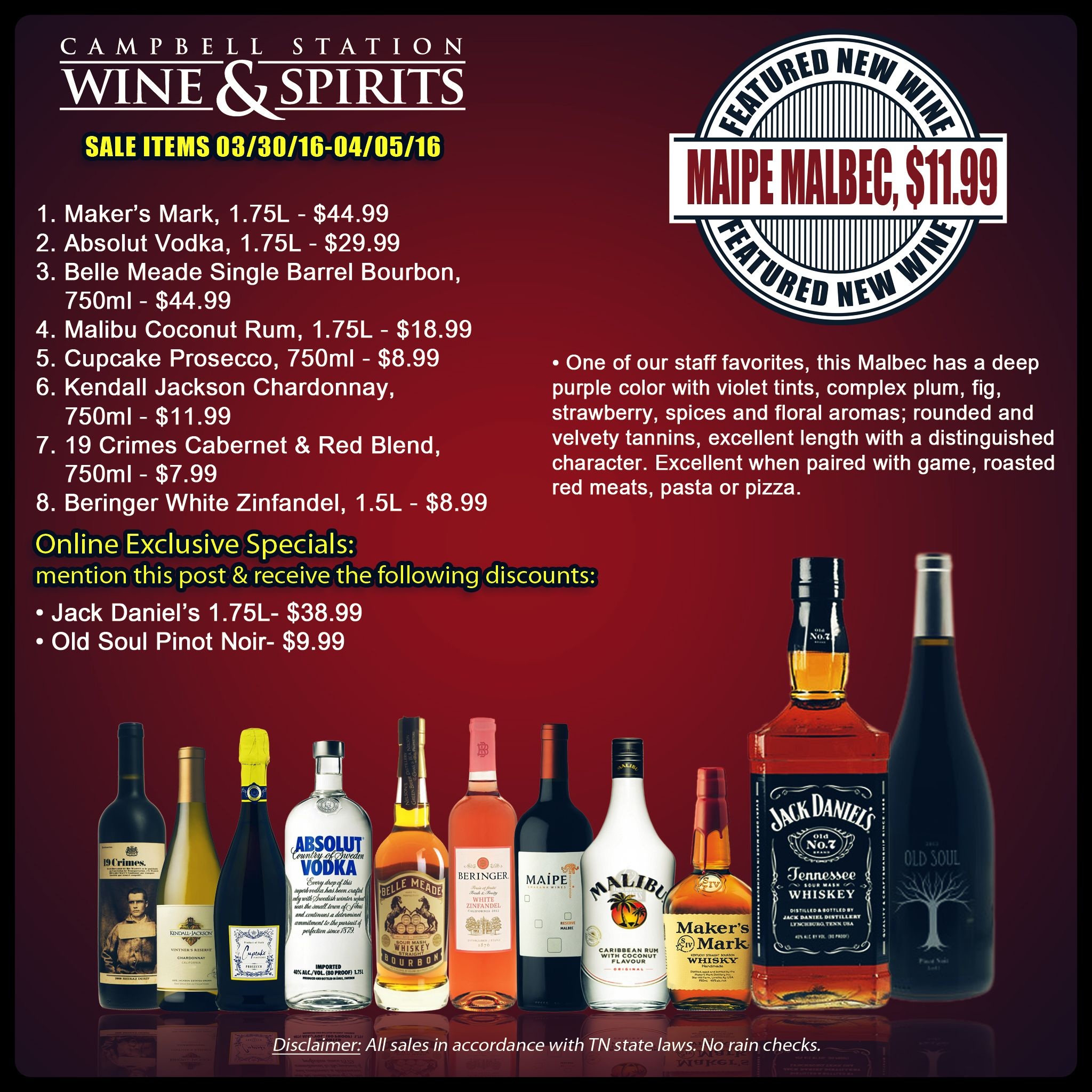Great Wine Beer And Spirit Deals Are Coming Your Way This Week Enjoy Great Savings And Choose From Our List Of Prod Wine Sale Cupcake Prosecco Absolut Vodka