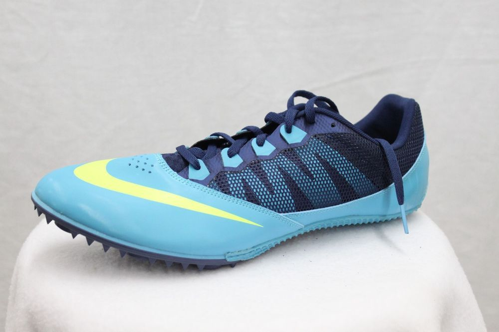 Nike Zoom Rival S Sprint Men's Blue Running Track & Field Spikes MSRP $70  NEW