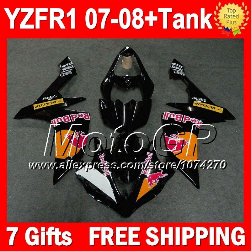 Купить товар7 подарки + комплект для YAMAHA 2007 2008 YZF R1 YZFR1 07 08 оранжевый blk P102190 YZF1000 07 08 YZF 1000 YZF R1 07 08 обтекателя оранжевый черный в категории Щитки и художественная формовкана AliExpress.                              Удостоверение личности aliexpress: MotoGP