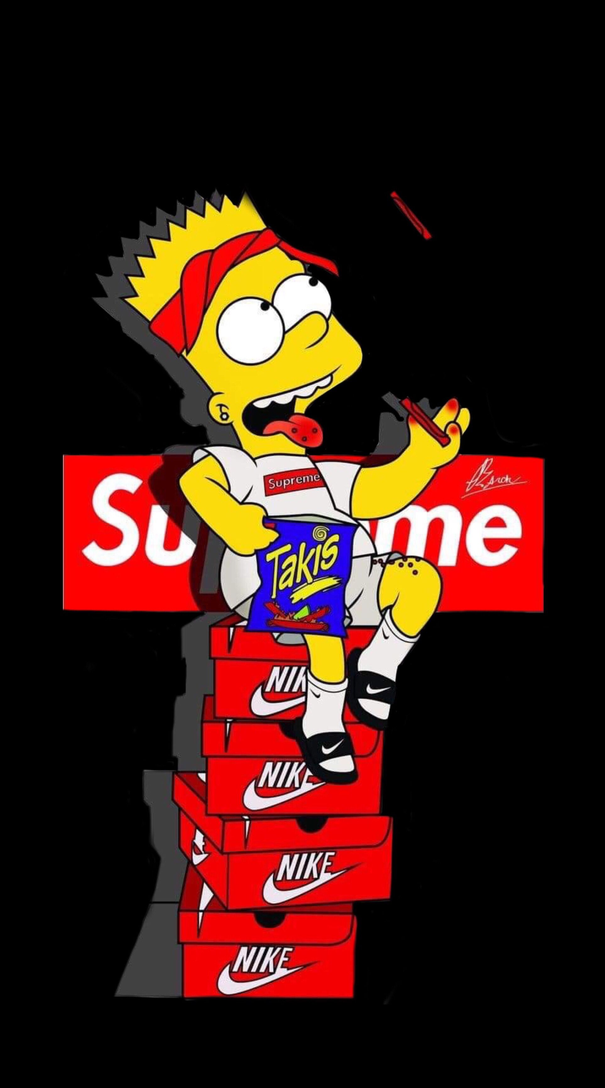 Pin By Claritza Campos On Iphone Wallpapers Bart Simpson Art Simpsons Art Simpsons Cartoon