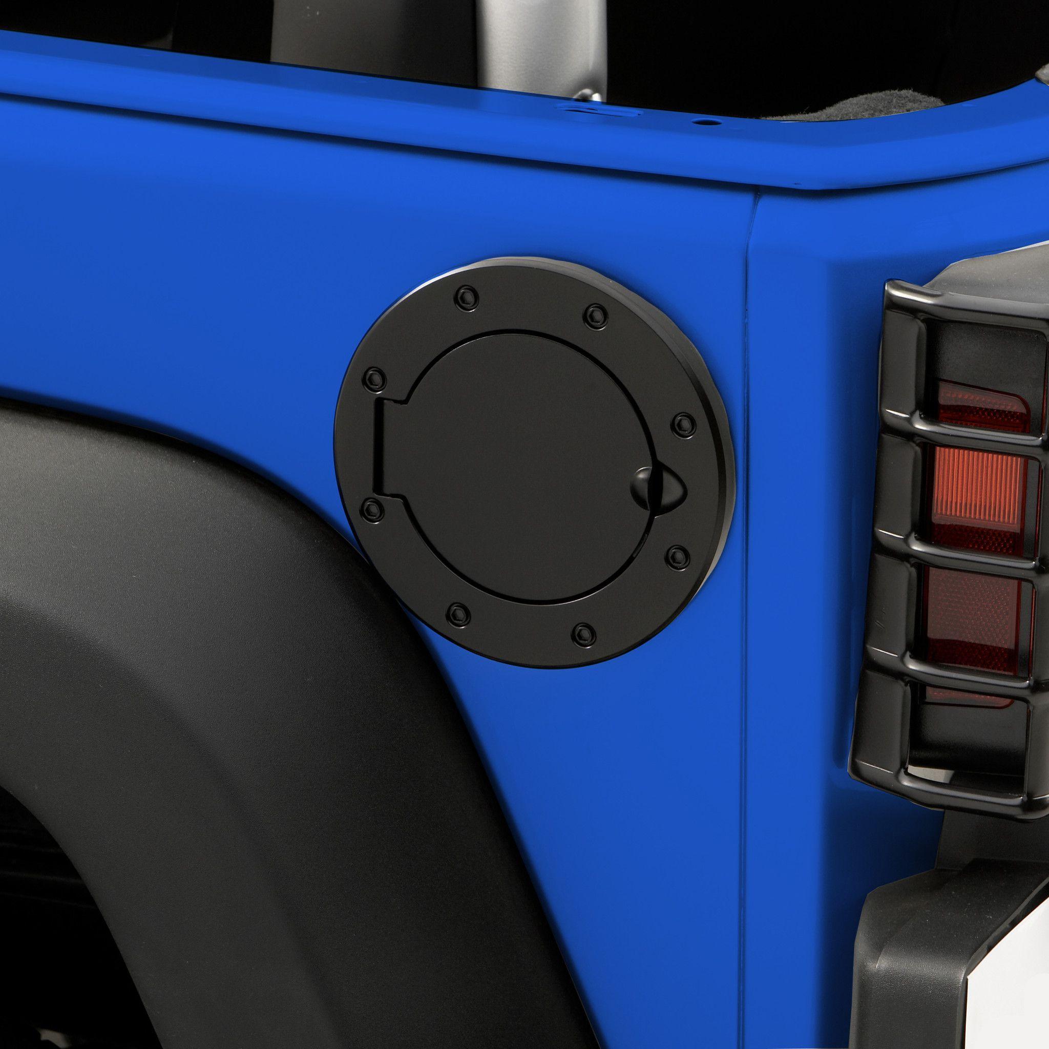 Non Locking Gas Cap Door Black 07 16 Jeep Wrangler Jk Jeep Wrangler Jeep Wrangler Jk Jeep
