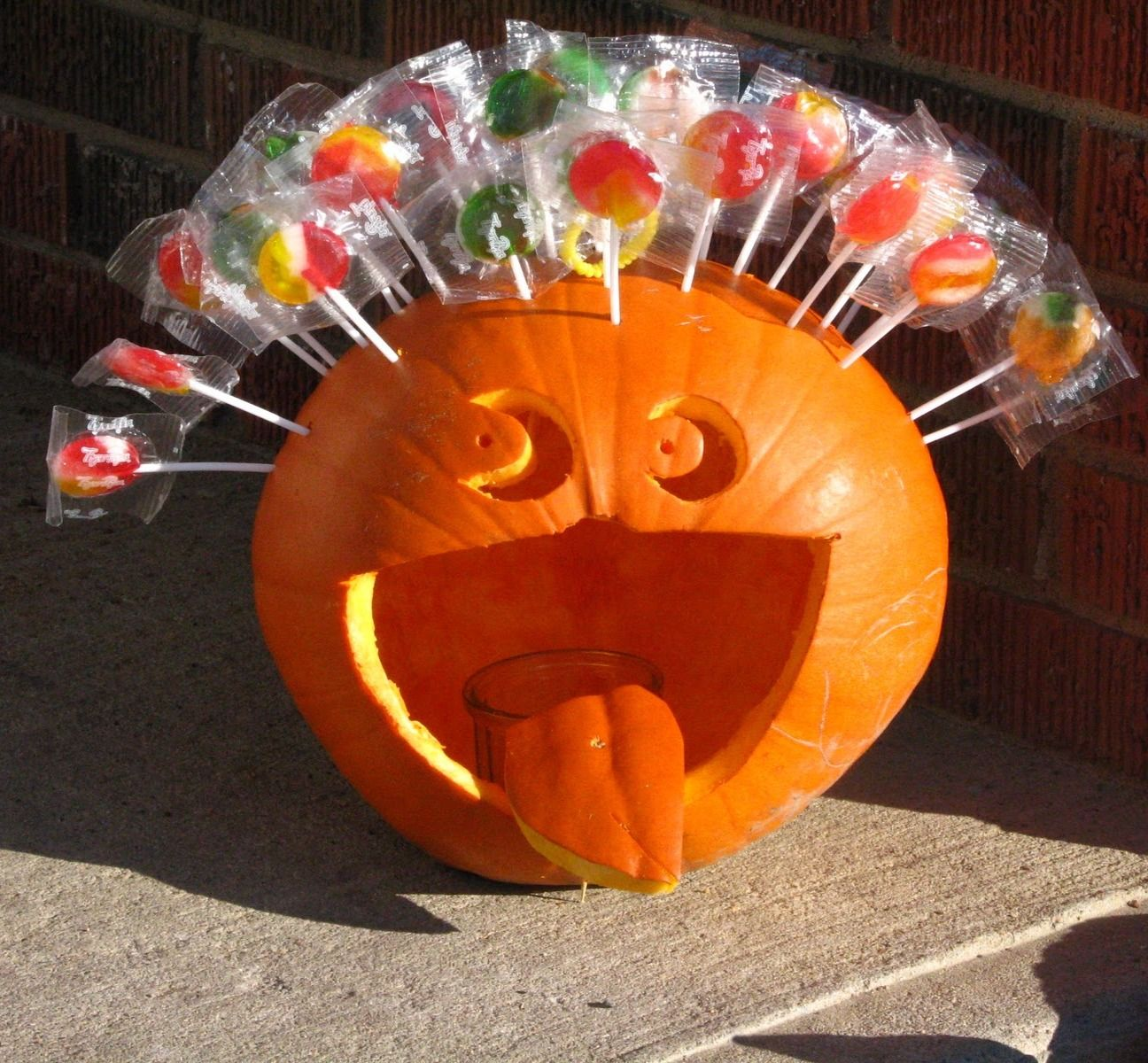 Funny Halloween Pumpkin | Funny Face Pumpkins - Happy Halloween pictures , images, pics, Photos ...
