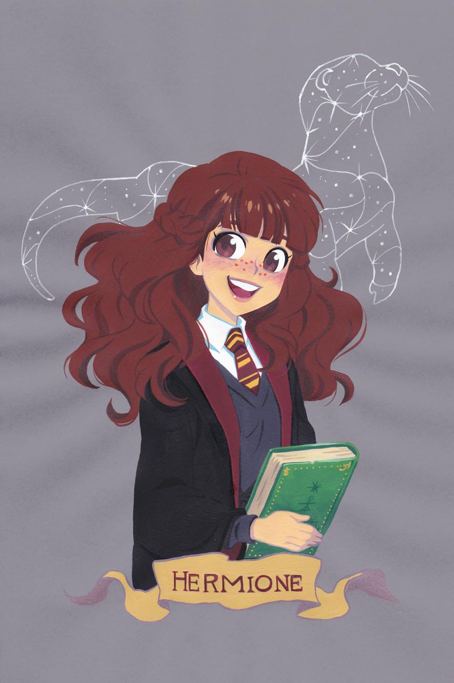 Harry Potter Dessin Anime - Hermione !!!