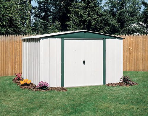 Arrow Hamlet 10 X 8 Shed At Menards Steel Storage Sheds Garden Storage Shed Shed Storage