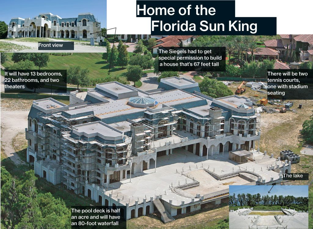 Versailles The Would Be Biggest House In America Houses In America Mansions Expensive Houses