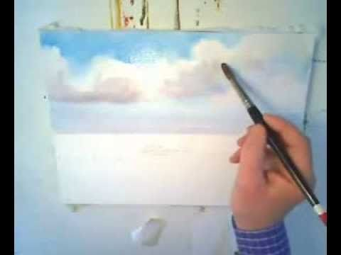 Apprendre A Peindre Un Reflet A L Aquarelle Youtube Aquarelle