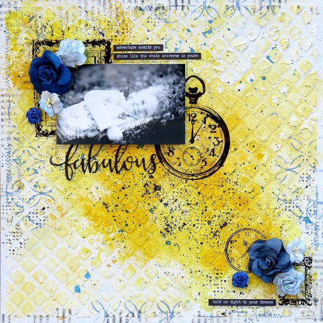 Les créations de mariemily: Défi de juin / June challenge (Words and Paintery)