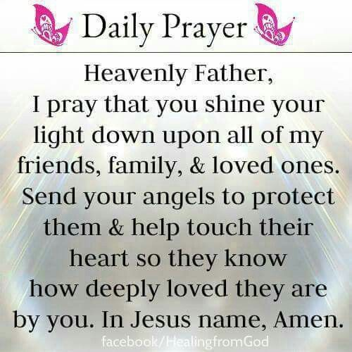 Prayer For My Sister Quotes: O How Much We Are Loved By An Awesome God.Love All Of You