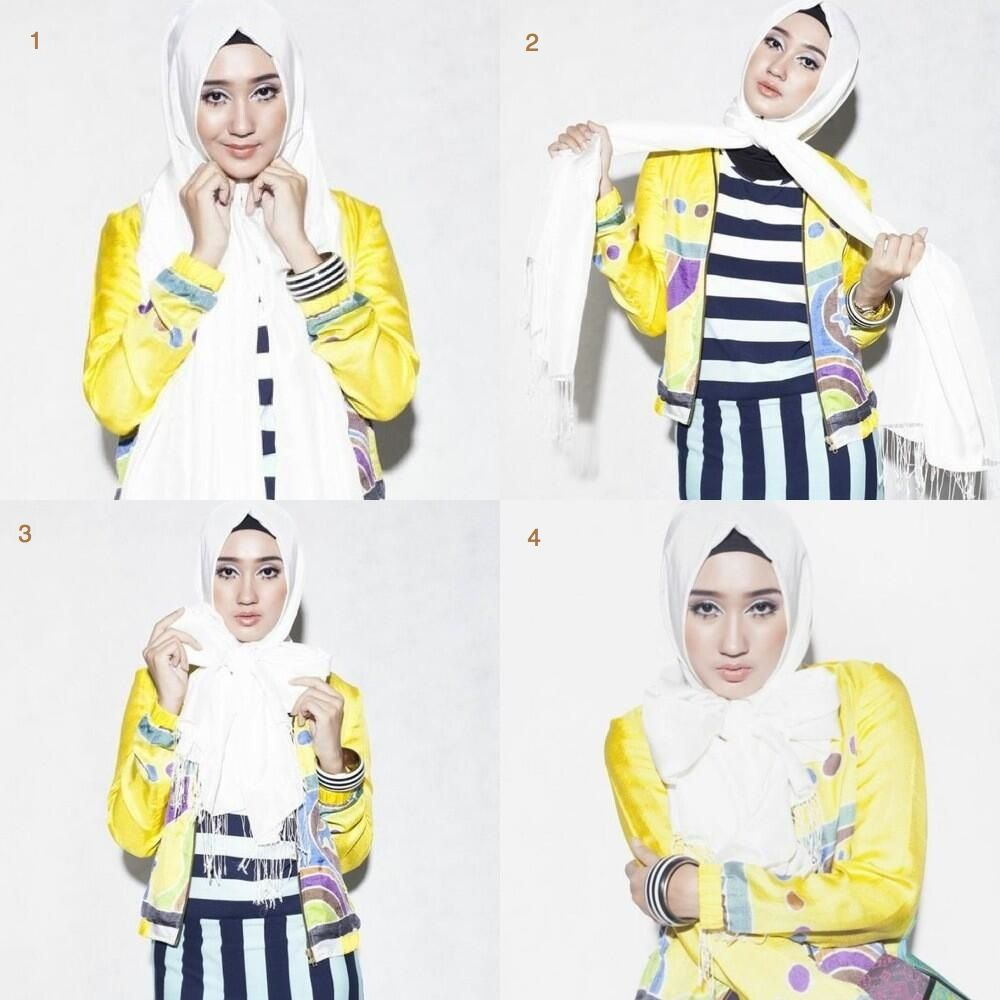 Tutorial Terbaru Hijab Praktis Ala Dian Pelangi Tutorial Hijab
