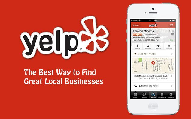 Yelp App for iPhone Iphone apps, App, This or that questions