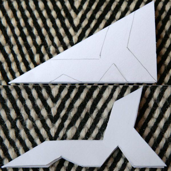 Des flocons en forme d'étoiles (2/5) - Cabane à idées