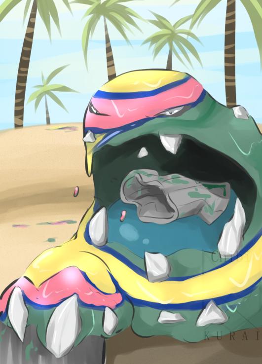 Alolan Muk By Dailypokesketch Pokemon Sun And Moon Pokemon