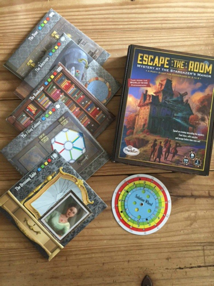ThinkFun Escape the Room   Caitlin Fitzpatrick Curley for GeekDad & GeekMom    Love escape rooms? Love games? Love ThinkFun? Check this out!