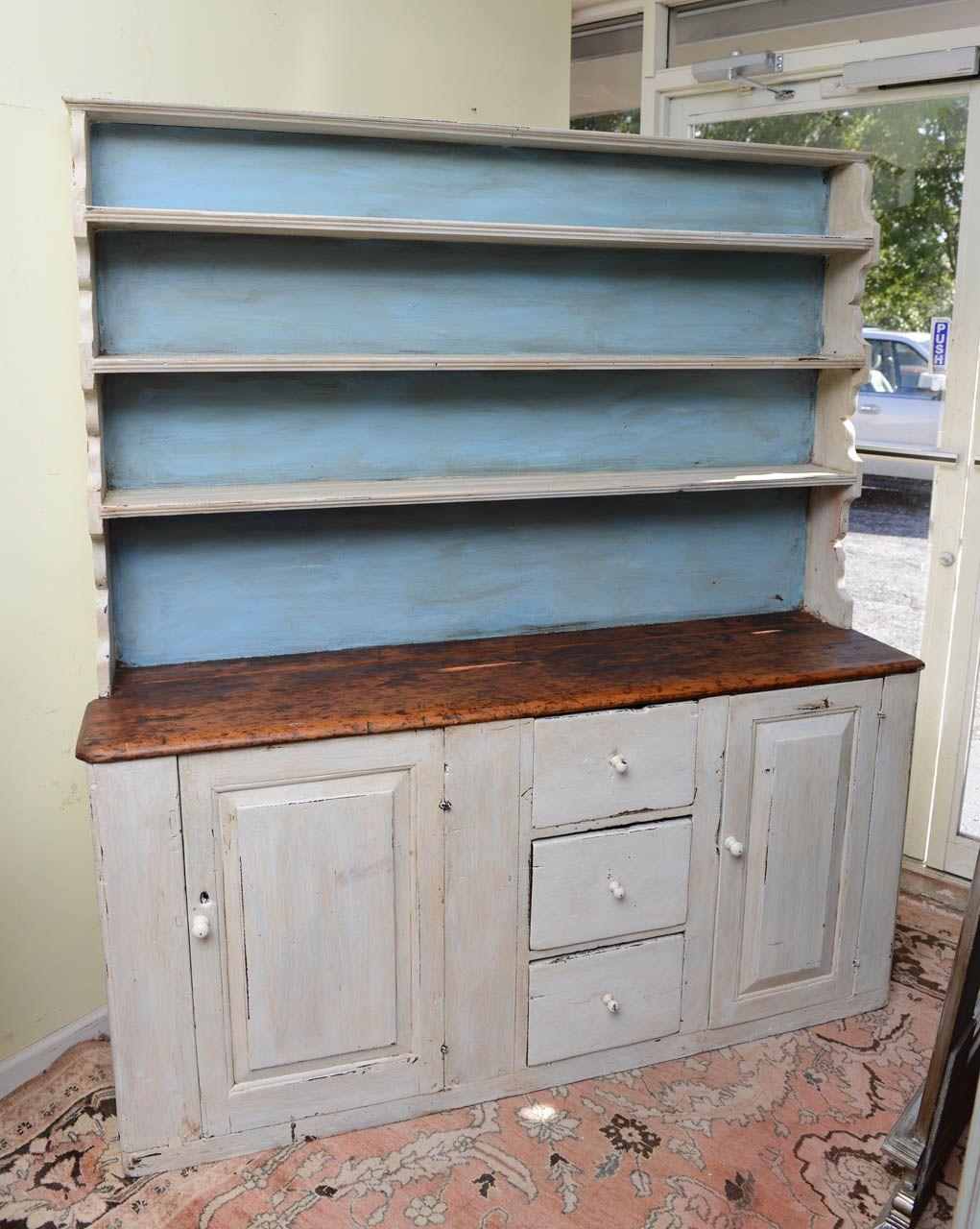 19th Century Welsh Kitchen Dresser | Kitchen dresser, Welsh and Dresser
