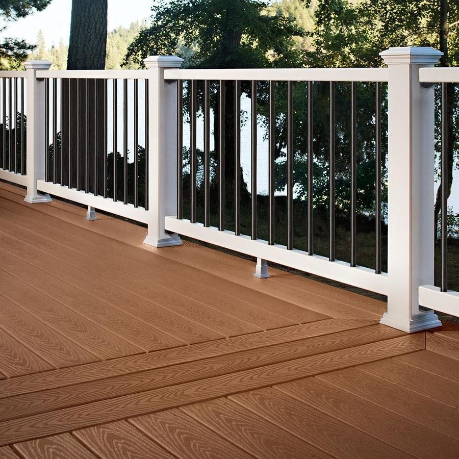 Trex Select 20 Ft Saddle Composite Deck Board At Lowes Com Composite Decking Beach House Deck Composite Decking Boards
