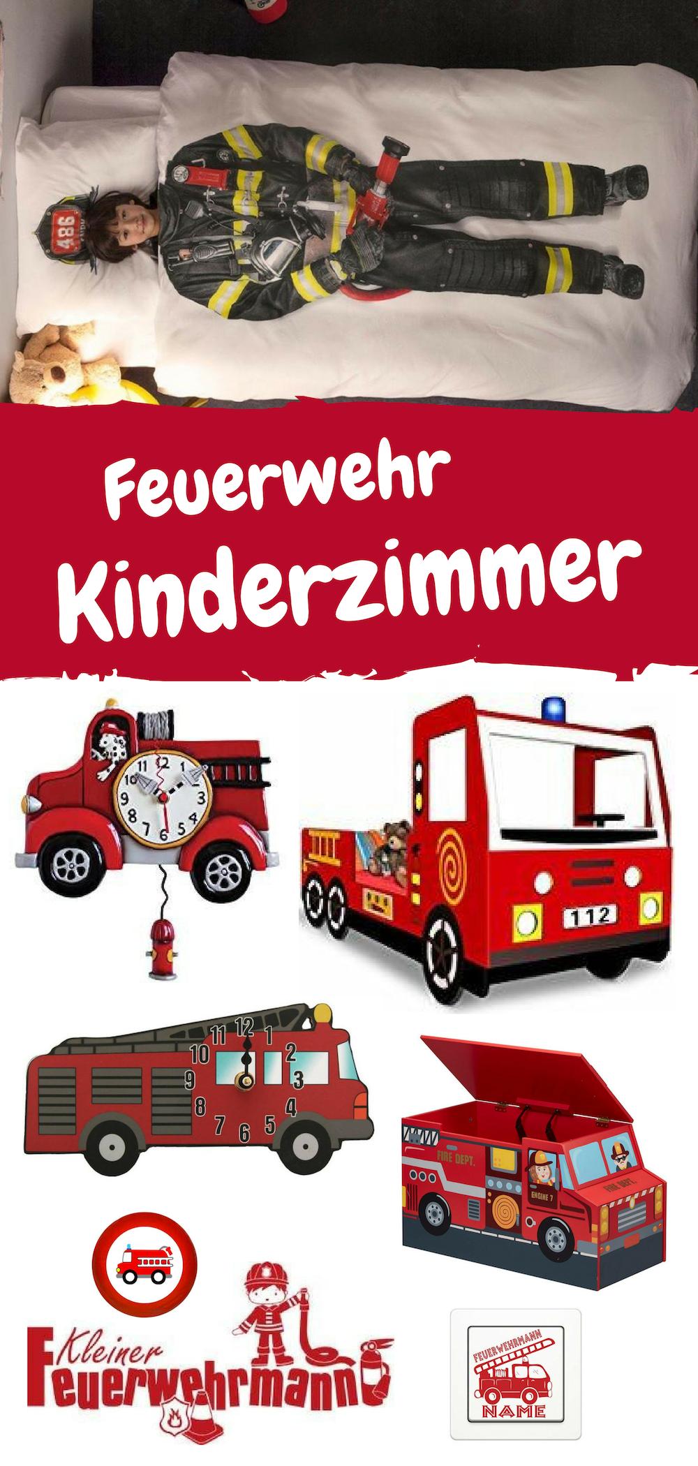 Inspiration Wie Man Das Spielzimmer Fur Einen Kleinen Feuerwehrmann Einrichten Konnte Feuerwehr Mobel Feuerwehrbett Fe Kinder Zimmer Kinderzimmer Feuerwehr