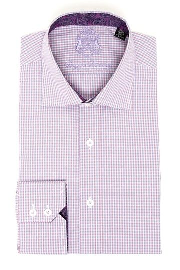 English Laundry Checker Dress Shirt Shirt Dress Mens Clothing