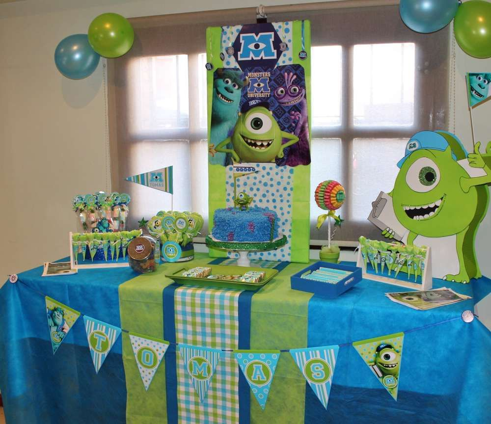 Monsters Inc. Birthday Party Ideas