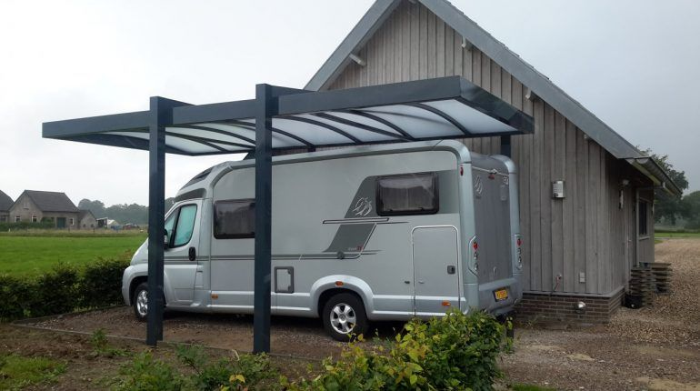 How To Build A Roof Over My Camper Carport Building Roof Rv Canopy