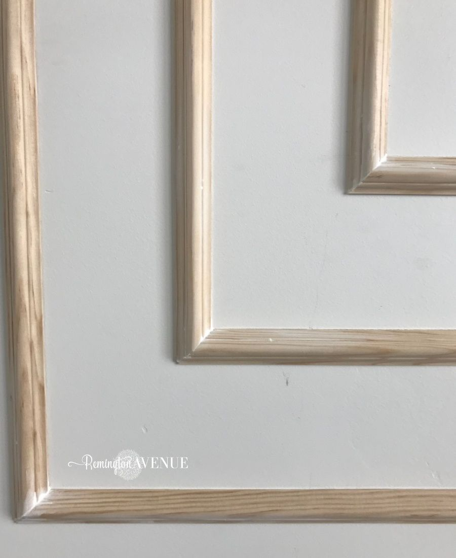 How To Install Modern Wall Molding Step 7 Use Wood Putty To Hide Nail Holes You May Need To Use Pu Wall Molding Modern Wall Paneling Decorative Wall Molding
