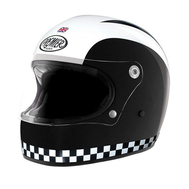 Premier Trophy Retro Helmet Helmade Vintage Integral Helmet Buy Your Own On Https Www Helmade Com Retro Helmet Helmet Retro