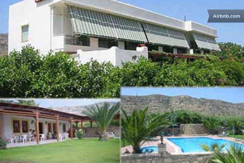 Matala Dimitris Villa and Hotel in Heraklionn מאוד בסיסי אבל קרוב לחוף