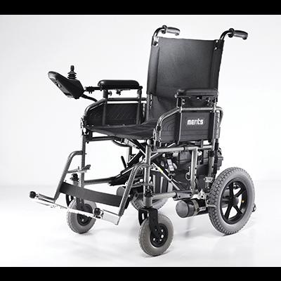 Merits Folding Power Wheelchair P101 Latest And
