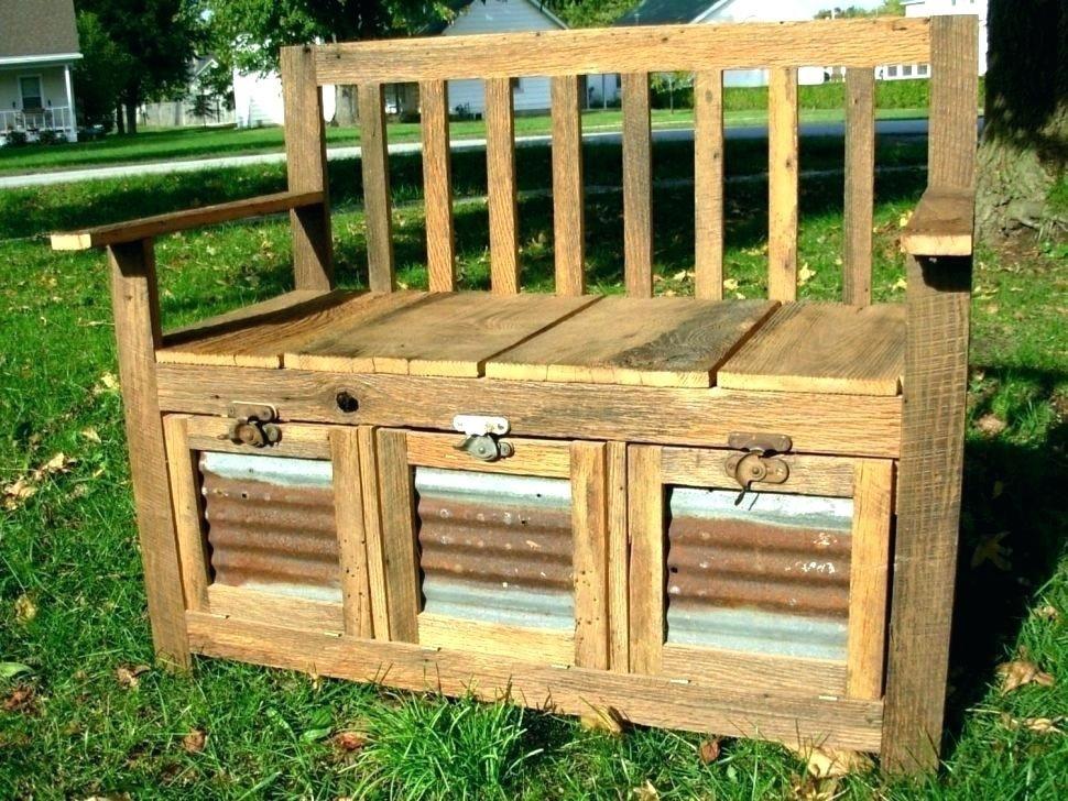Minimalist Rustic Storage Bench Diy In 2020 Barn Wood Projects Reclaimed Barn Wood Barn Wood