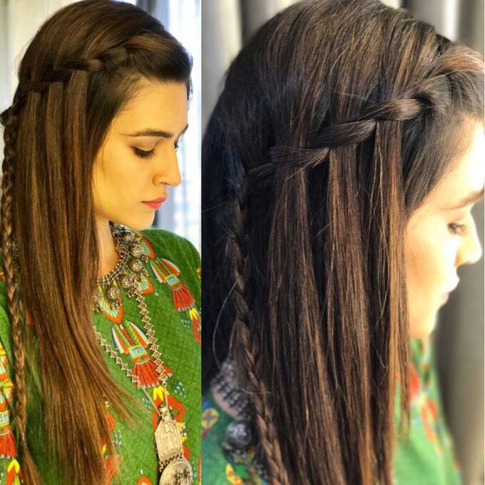 Kritii Sanon Hair Styles Front Hair Styles Medium Length Hair Styles