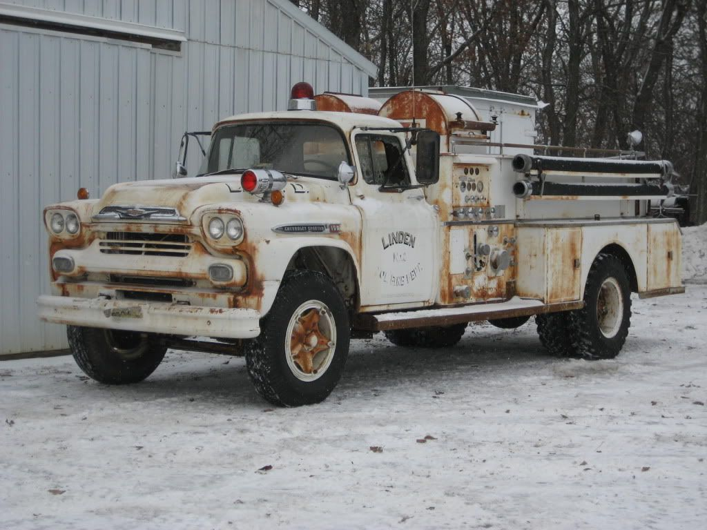 Types Of Pickup Trucks >> Old Fire Truck Firefighting Apparatus Fire Horse Fire