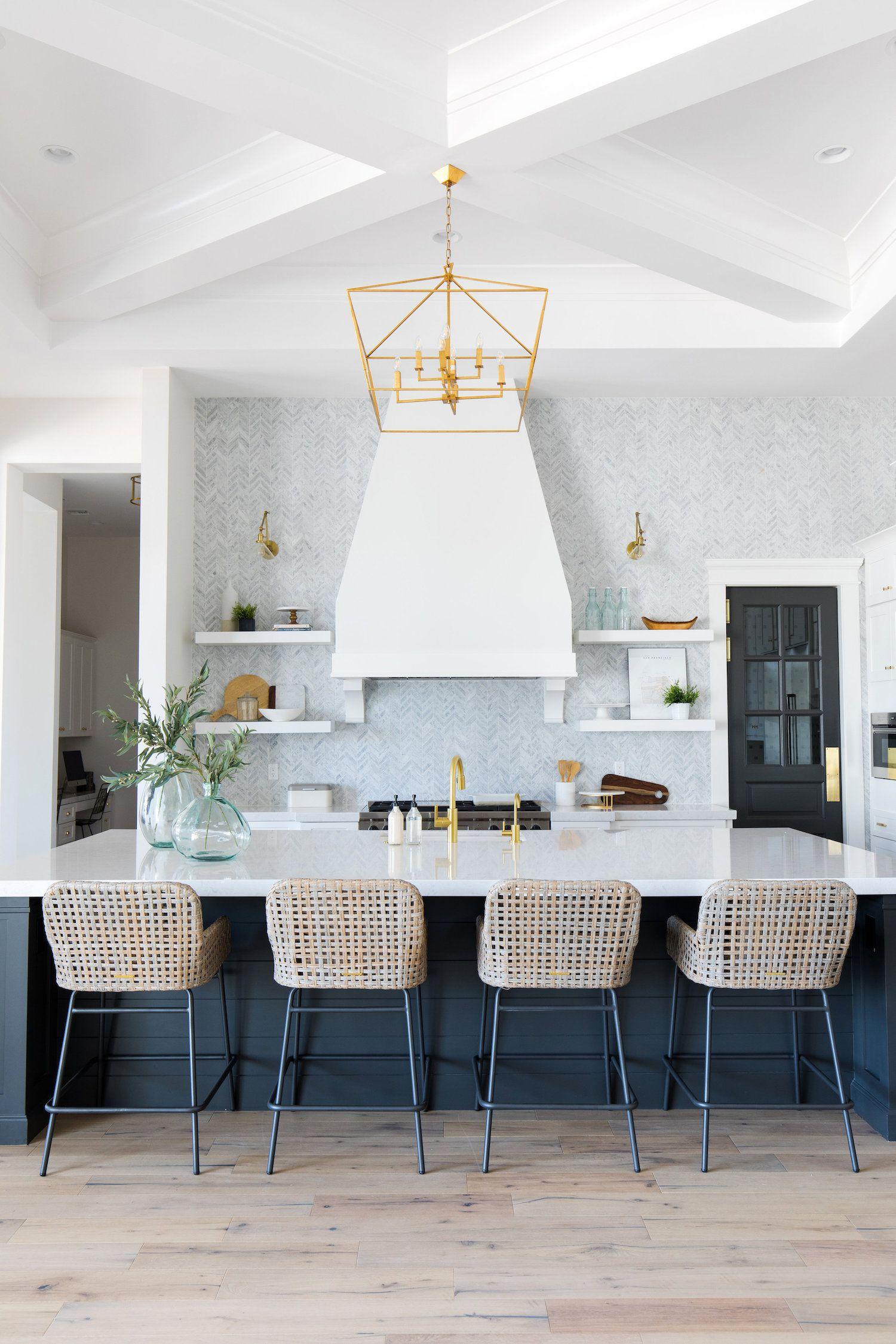 An Inspiring Interview With E Interiors A Look Inside Their Latest Dream Home Coastal Kitchen Design Home Decor House Interior