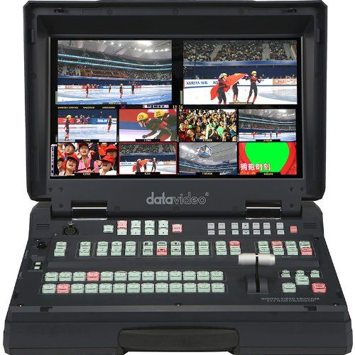 New Datavideo   HS-2800-8, Hand Carried HD/SD Mobile Studio
