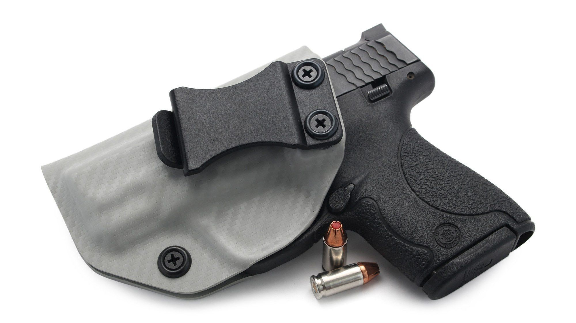 Kydex Concealment IWB Gun Holster BLACK CARBON FIBER For Ruger Handguns