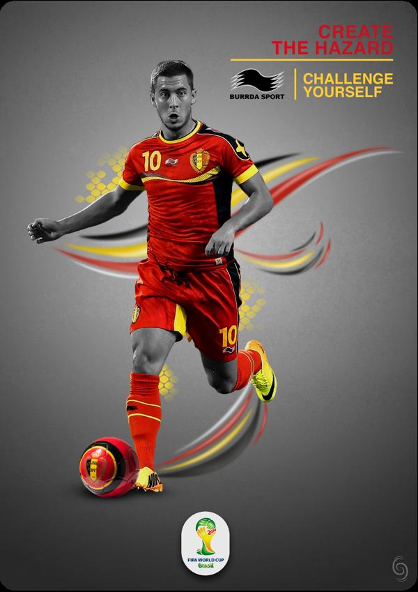 Burda Sport Belgium 2014 on Behance エデン アザール, サッカー