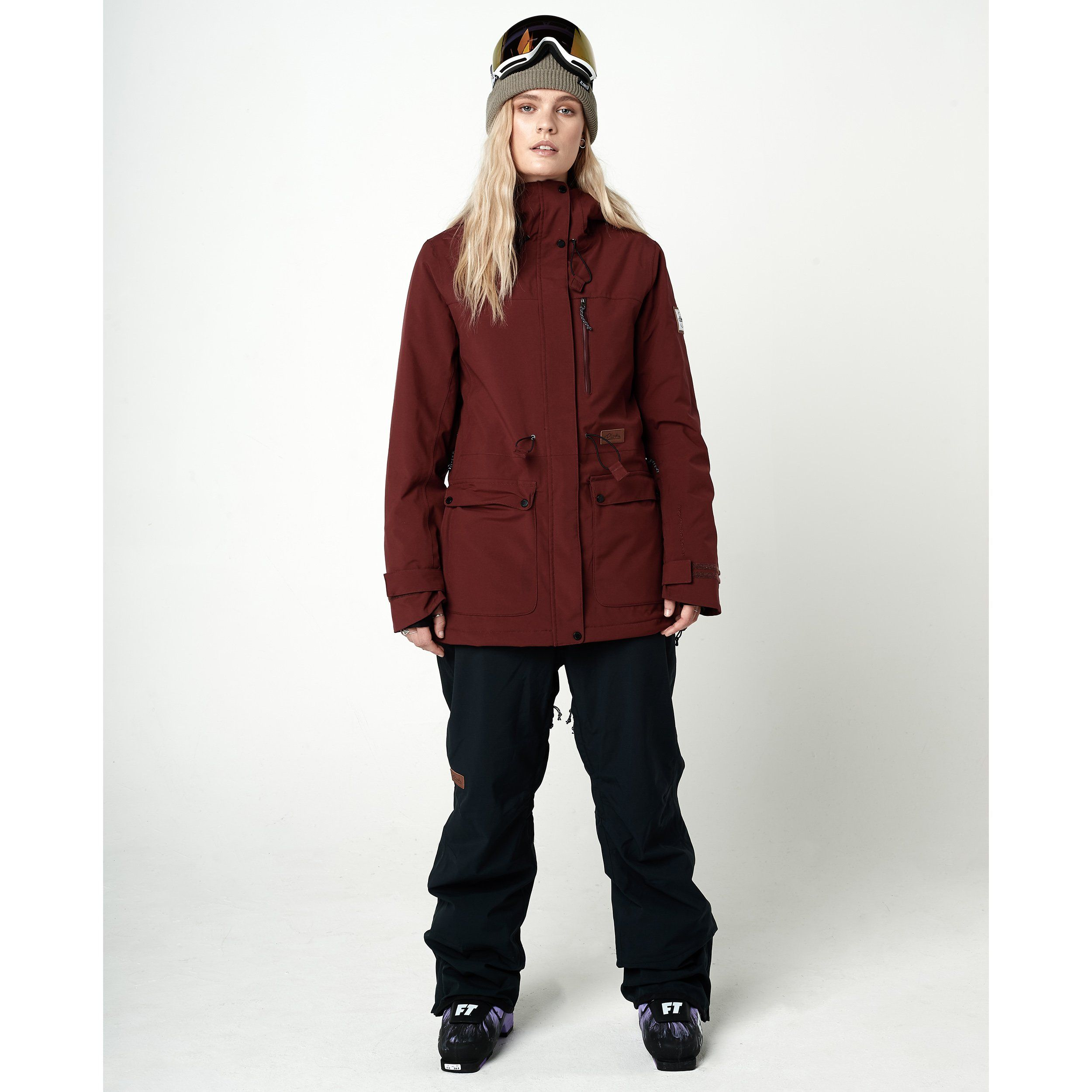 5dc005312e4e Women s Good Times Insulated Jacket Maroon