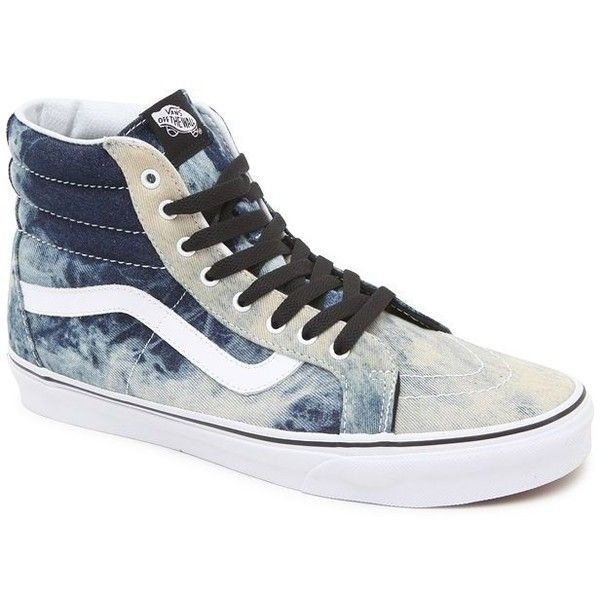 c7d066d45a Vans Acid Denim SK8-Hi Reissue Shoes ❤ liked on Polyvore featuring shoes