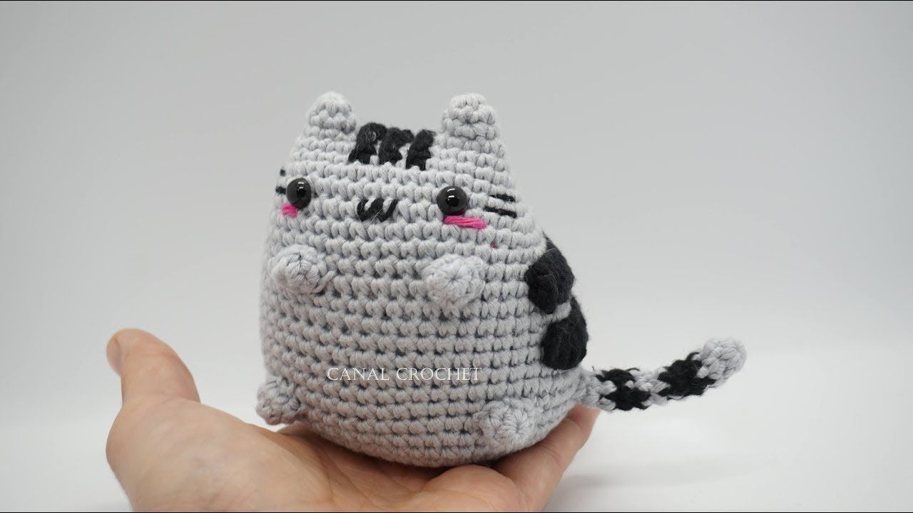 Gato kawaii amigurumi tutorial - YouTube | Crochet Madness ...