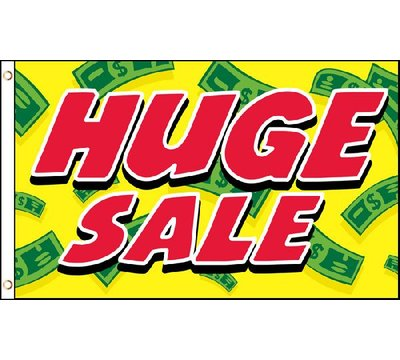 Neoplex Huge Sale Polyester 36 X 60 In House Flag Huge Sale