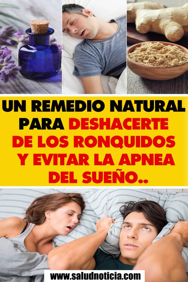 Sueno remedios del naturales apnea