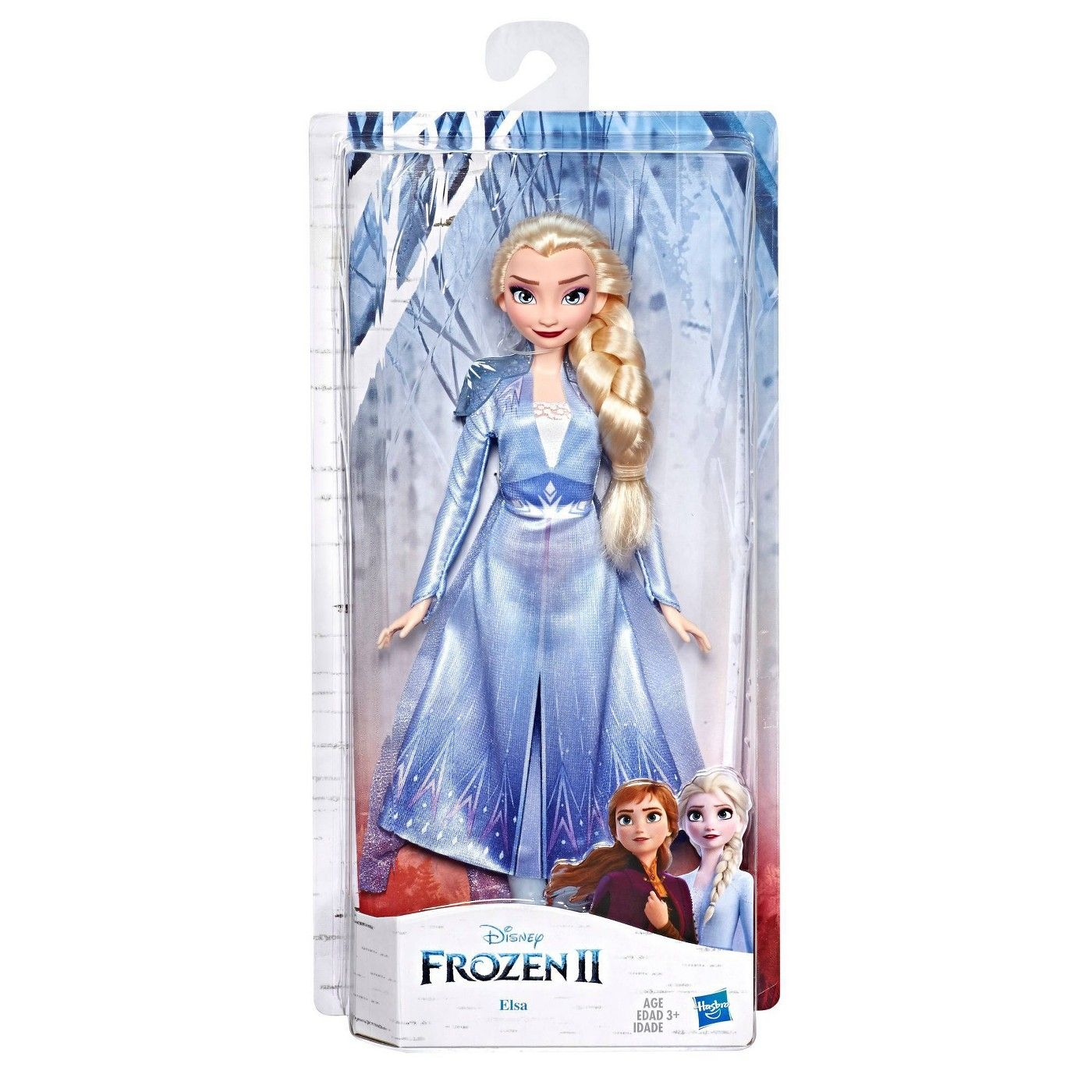 Disney Frozen 2 Elsa Fashion Doll With Blue Ombre Outfit In 2020 Disney Frozen Disney Frozen Dolls Disney Frozen Elsa