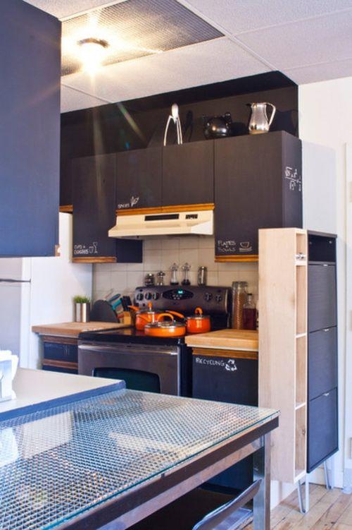 Schöne Ideen für klassische praktische Kreidetafel zu Hause ...
